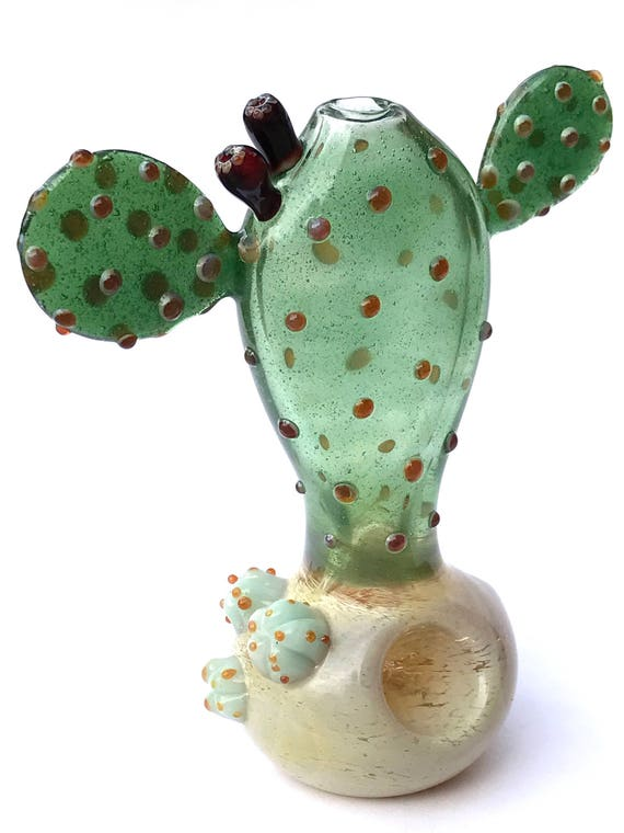 Glass Pipe Prickly Pear Cactus