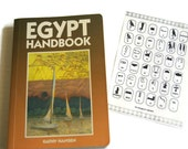 Vintage Egypt Handbook By Kathy Hansen With The Hieroglyphic Alphabet The Gift Of The Nile Moon Publications Hong Kong 1990 Paperback Egypt