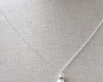 Bridesmaid necklace, necklace beads