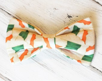 SALE Irish Flag Dog bow tie ONLY, Cat bow tie, pet bow tie, collar bow tie, wedding bow tie