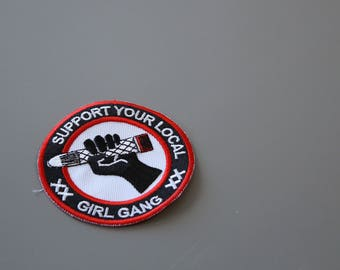 girl gang patch