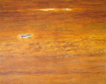 Brown Abstract - Original Painting - Hanna Megged Art collection