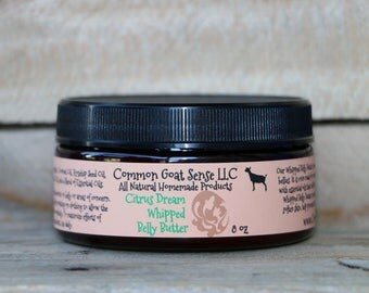 Citrus Dream Whipped Belly Butter