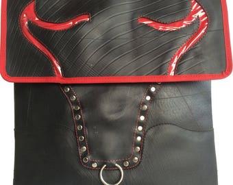 Recycled Rubber Tyres Inner Tubes Shoulder bag Bull