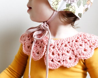 Crochet collar, Vintage Crochet Collar, Collar, Peter Pan Collar, Collar Accessory, Peter Pan Collar Detachable
