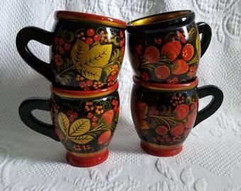 Vintage KHOKHLOMA Mugs