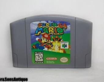 Super Mario 64 Nintendo 64 Video Game Cartridge