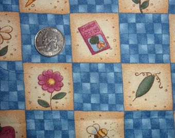 Bunny Kins Jelly Bean Junction MM FAB Easter Cotton Quilt Fabric BTY by the yard