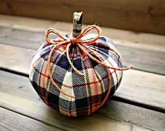 Fabric Pumpkin - Autumn Pumpkin - Pumpkin - Autumn Decor
