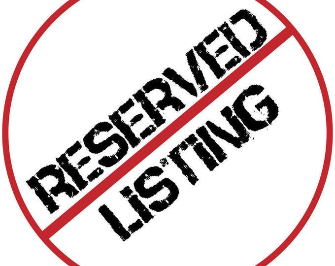 RESERVED LISTING for PAPATOCS Person Lives Here Decal