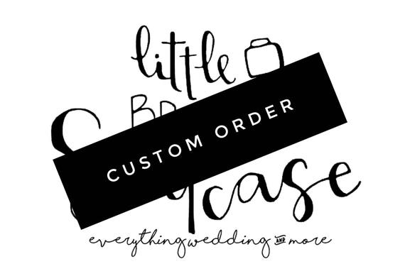 custom robe order for roselyn