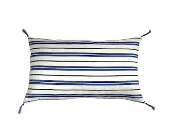 """Milos"" linen cushion"