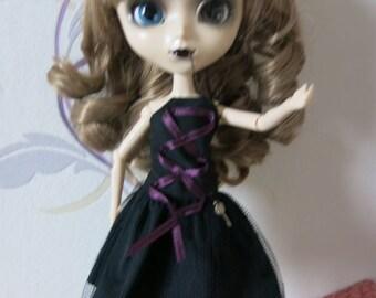 kawaii black Pullip dress