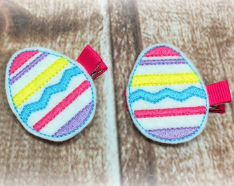 Easter Egg Hair Clip, Easter Egg Clip, Easter Egg Clippie, Easter Egg Bow, Easter Hair Clip, Easter Clippie, Easter Bow, Easter Hairbow
