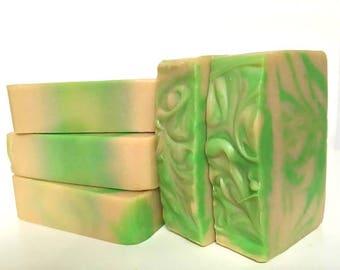 Pineapple Soap,Pineapple Scent,Tropical Soap,Citrus Soap,Fruit Soap,Shea Butter Soap,Cocoa Butter Soap,Pineapple Cilantro Soap,Summer Soap