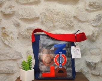 Small bag of London oilcloth