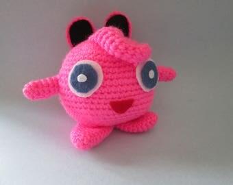 Crochet Puffer Ball Inspired by Jigglypuff