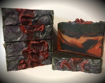 Dragons Blood scented homemade soap