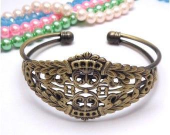 Cuff Bracelet 1 x Bronze (SJ051)