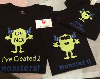 Oh No! I've Created a Monster Tshirt