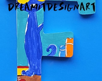 Pete the Cat Stay Groovy Alphabet Letter F