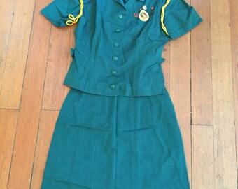 Vintage Adult Girl Scout Uniform