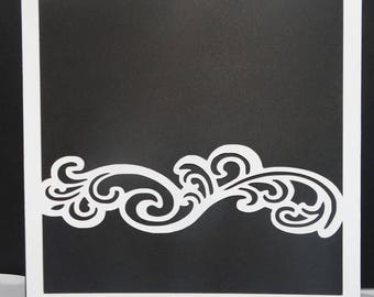 Share marriage frieze lyra black and white