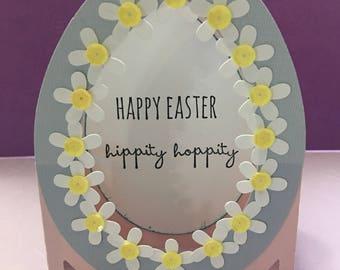 3-D, Pop up box, Easter card, Easter Egg, Egg Card
