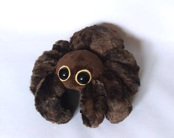 Brown Spider Plush - Spiderbro - Cute Spider