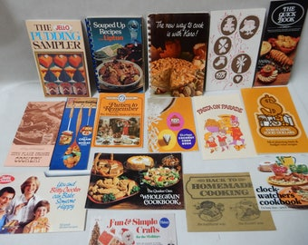 1970's Promotional Cookbook Collection
