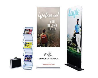 Custom EZ Event Display Package free design by bannerbuzz