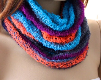 under 10 usdblue gray orange purple  wraps, scarf, scarves, knitted scarf, knitted scarves, white scarves, wraps knitted scarf