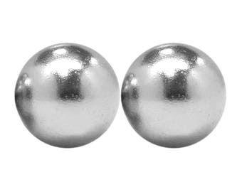 5/8 Inch (15.87 mm) Neodymium Rare Earth Sphere Magnets N48 (2 Magnets)