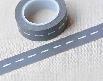 Dotted Line Road Scrapbooking Washi Tape 15mm x 10M Roll No.13083