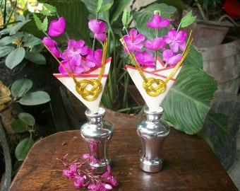 Japanese Miniature Hinamatsuri Plum Flower Decoration