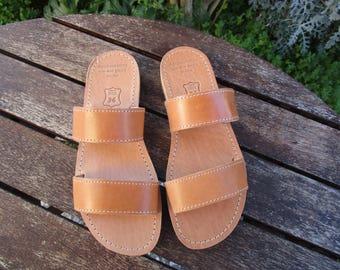 Hand Made Greek Leather Sandal