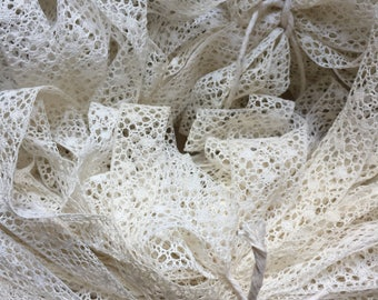 French Cream Cotton Lace