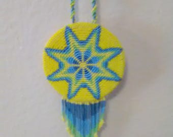 Beaded medallion