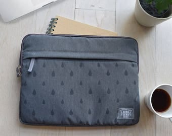 "13"",15"" dark gray laptop sleeve, macbook sleeve, macbook pro 13"" sleeve case, apple12"" macbook sleeve case,macbook pro 15"" sleeve case"