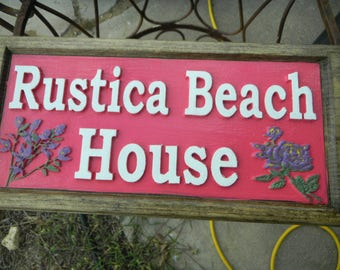 Signs, Plaques, Wooden, Custom Designed, Carved, Animated, Scenic, Address, Street, House Numbers, Decorative, Exterior or Interior,