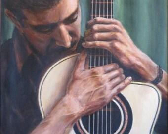 Guitarist art