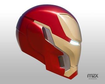 Mark 48/50 helmet model for 3D-printing DIY v.4