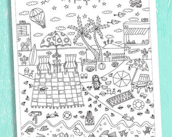 Coloring Poster by Gula, Coloring Paper For Children