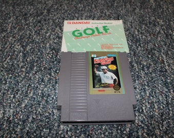 Nintendo NES Fighting Golf classic video game entertainment system retro Brothers gamer
