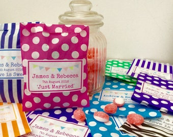 Personalised Candy Sweet Bags