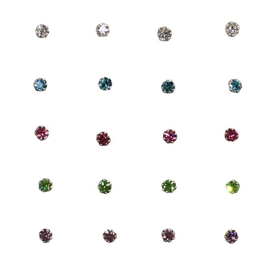 Nose Jewelry • Nose Ring • Nose Stud • Nose Pin • Nose Ring Stud • Nose Piercing • Ready For a Cute Nose • Waterproof • Sterling Silver