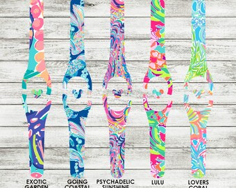 Magic Band Decal | Lilly Pulitzer Inspired Disney Magic Band 1.0 or 2.0 Decal | MagicBand Wrap | RTS Ready To Ship | Glitter MagicBand Decal