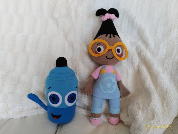 Like Toy Tv : Plush toys just like mona and sketch babytv