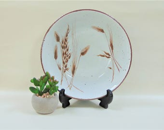Midwinter Wild Oats Vegetable Serving Bowl Stonehenge Range 1970s Vintage Mid Century Tableware