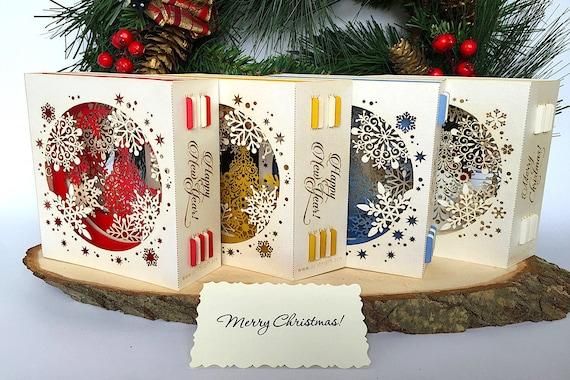 pop up weihnachtskarten 3d weihnachts geschenk f r ihre. Black Bedroom Furniture Sets. Home Design Ideas